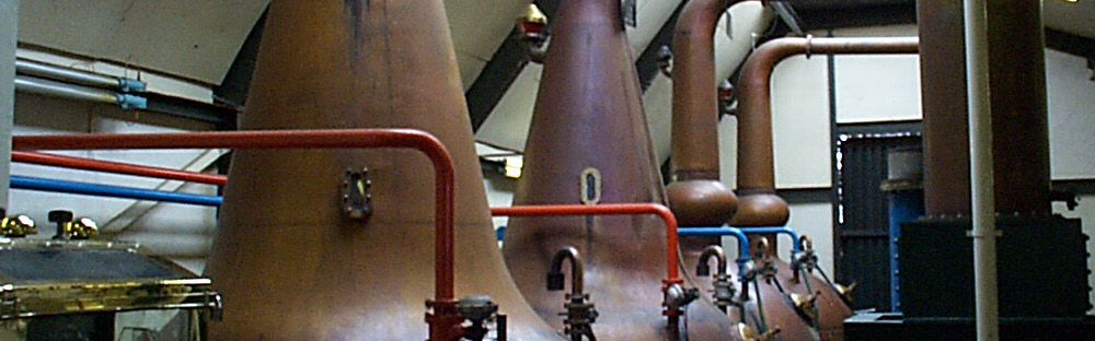 The Allt-a-Bhaine pot stills