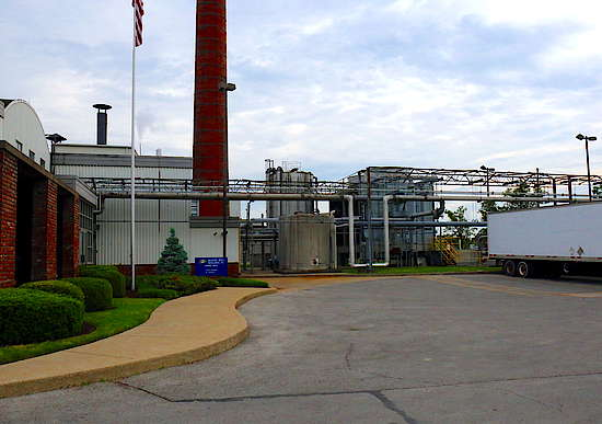 The Bernheim distillery