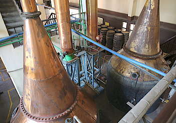 Amrut pot stills and condensers uploaded by Ben, 23. May 2016