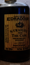 Edradour Straight from the Cask - Sherry Butt