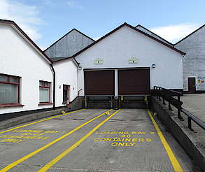 Bushmills loading bay uploaded by Ben, 12. May 2015