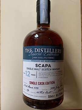 Scapa The Destillery Reserve Collection 12 Years Single Cask Edition