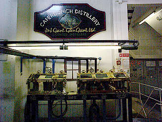 Caperdonich company sign & spirit safe uploaded by Ben, 16. Feb 2015