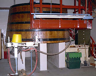 Benromach cask filling station uploaded by Ben, 16. Feb 2015