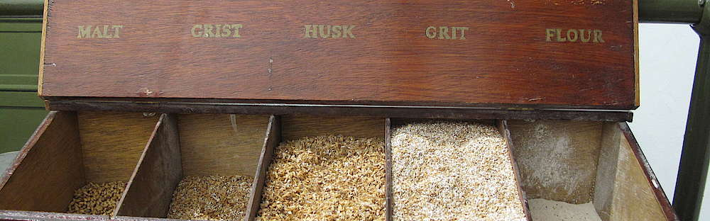 Malt, Grist, Husk, Grit and Flour