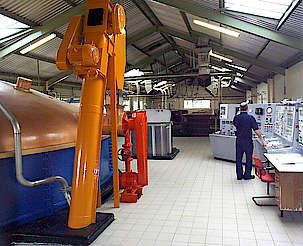 Mannochmore mash tun, wash backs and electronic control uploaded by Ben, 15. Apr 2015