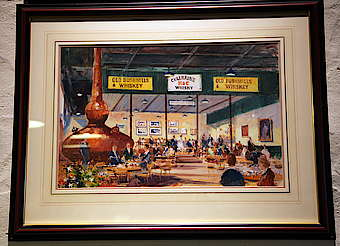 Bushmills painting of the restaurant uploaded by Ben, 12. May 2015