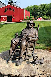 Jim Beam statue uploaded by Ben, 22. Jun 2015