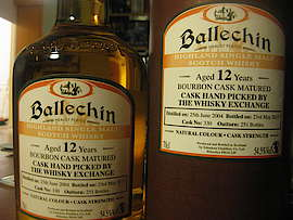 Ballechin The Whisky Exchange