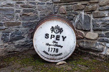 Cask Outside Spey Distillery uploaded by Ben, 22. Nov 2019