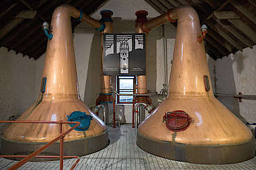 Glengyle pot stills uploaded by Ben, 23. Feb 2016