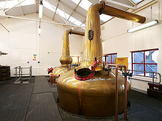 Benromach pot stills uploaded by Ben, 07. Dec 2018