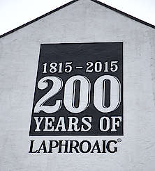 Laphroaig company sign uploaded by Ben, 15. Feb 2016