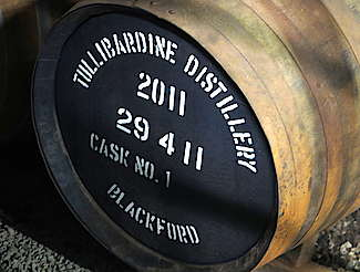 Tullibardine cask uploaded by Ben, 04. May 2016