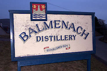 Balmenach company sign uploaded by Ben, 10. Feb 2015