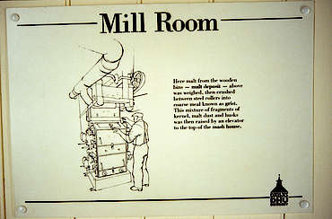 Dallas Dhu mill room sign uploaded by Ben, 17. Feb 2015