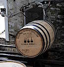 Read about how Bourbon Whiskey is filled into the different casks like American standard barrels, hogsheads or butts. See the Barrel production and the importance of caring the staves.