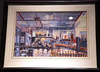 Bushmills painting of the production uploaded by Ben, 12. May 2015