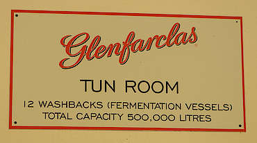 Glenfarclas tun room sign uploaded by Ben, 29. Nov 2019