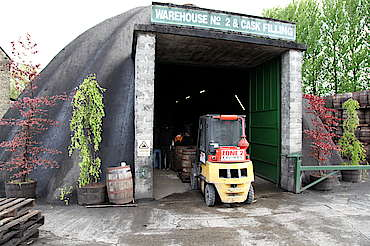 Kilbeggan warehouse entrance uploaded by Ben, 18. May 2015