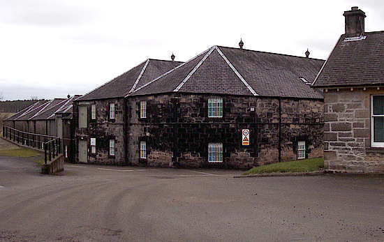 The warehouses of Longmorn