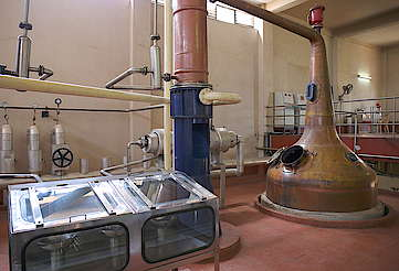 John Distillery pot still, condenser and spirit safe uploaded by Ben, 23. May 2016