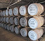 Read an overview about how Scottish Single Malt whisky is matured in the casks, barrels and butts. See the dunnages (warehouses) and learn about the angel's share.