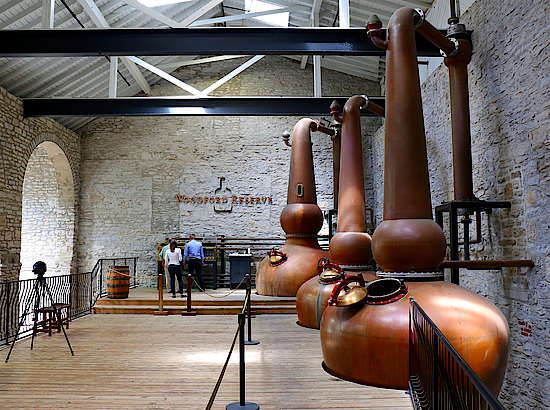 The Pot Stills of Woodford Reserve
