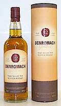 Benromach old Tube