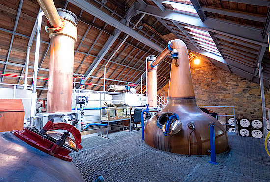 Pot Stills at Speyside