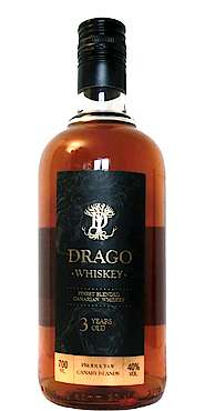 Drago Whiskey - Finest Blended Canarian Whiskey