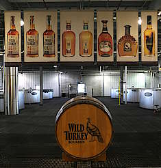 Wild Turkey barrel and product banners uploaded by Ben, 29. Jun 2015