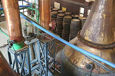 Amrut pot still and condensers uploaded by Ben, 23. May 2016
