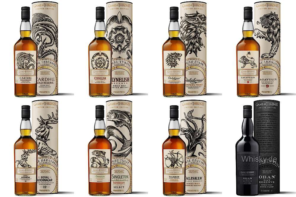 Game Of Thrones Single Malt Whisky Collection Pre Orders Can Be Made Now Whisky Com