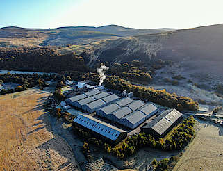 The Tomintoul Distillery from above uploaded by Ben, 06. Dec 2019