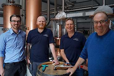 Raasay distillery team uploaded by Ben, 26. Jan 2018