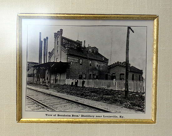 A picture of the old distillery
