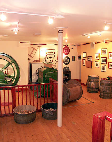 A look inside the Glenmorangie museum.