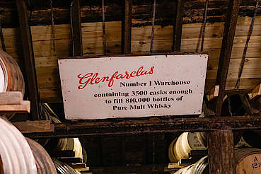 Glenfarclas warehouse uploaded by Ben, 29. Nov 2019