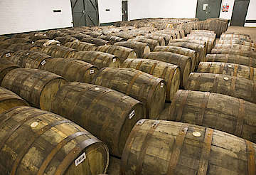 Bunnahabhain casks for the warehouse uploaded by Ben, 25. Jan 2016