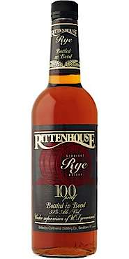 Rittenhouse Straight Rye Whisky 100 proof