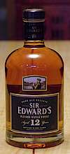 Sir Edward's Rare Old Reserve Blended Scotch