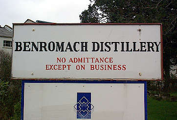 Benromach company sign uploaded by Ben, 11. Feb 2015