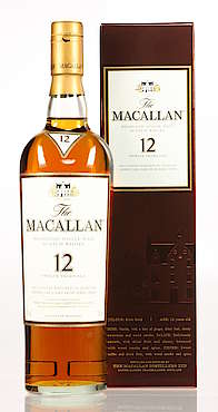 Macallan Sherry Cask