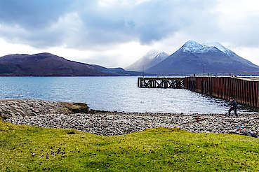 Raasay old pier uploaded by Ben, 26. Jan 2018
