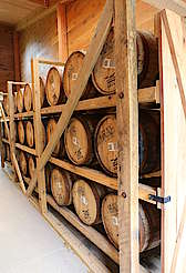 Buffalo Trace barrel rack uploaded by Ben, 21. Jul 2015