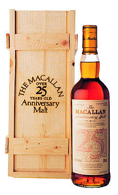Macallan 25 y.o. -1975/2000 with its wooden box
