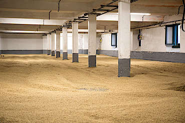 Laphroaig malting floor uploaded by Ben, 15. Feb 2016