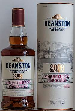 Deanston Bordeaux Red Wine Cask Matured