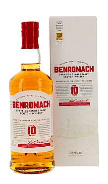Benromach new Design 2020